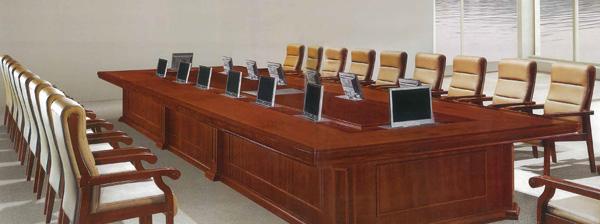 视频会议办公桌