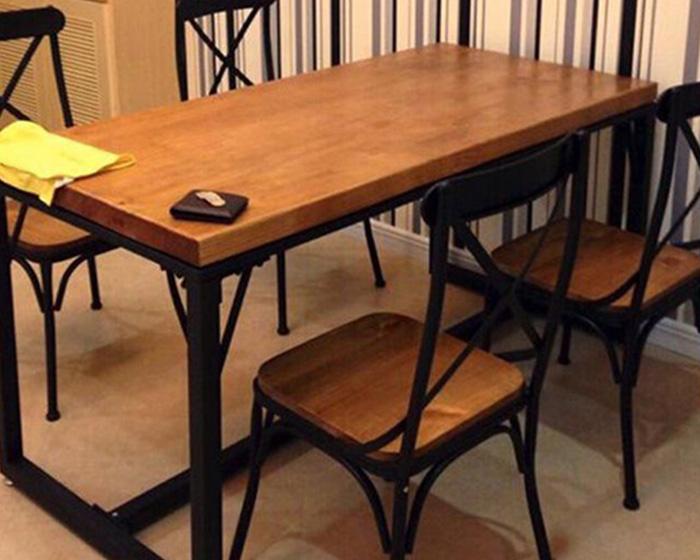 自助餐厅桌椅