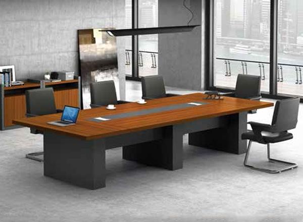 胶板办公桌