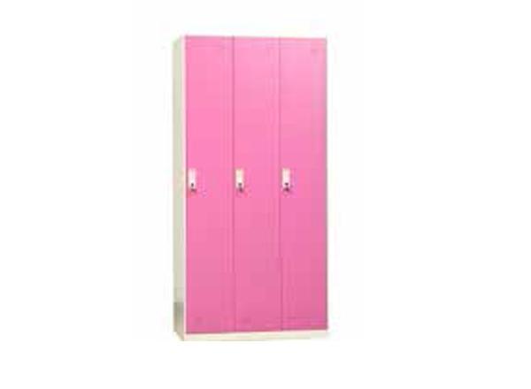 彩色更衣柜