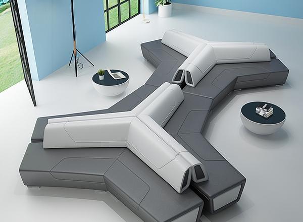 公共休闲沙发