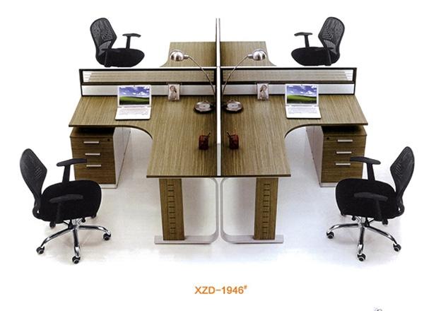 四人办公桌