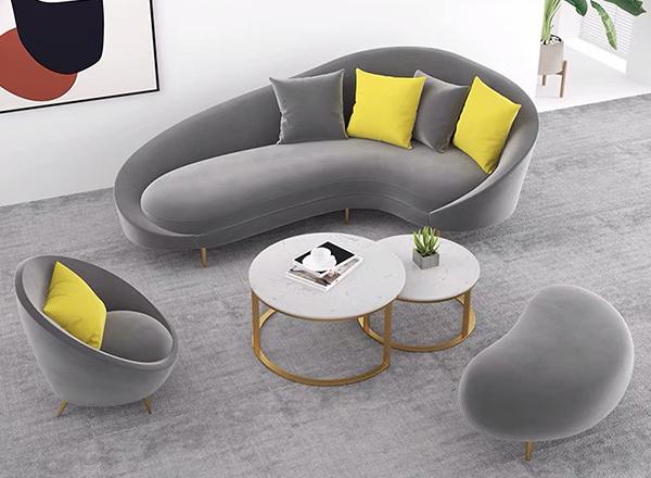 异形软体沙发